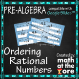 Ordering Rational Numbers - GOOGLE Slides