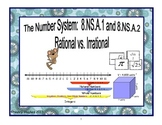 The Number System:  Rational and Irrational Numbers 8.NS.1, 8.NS.2