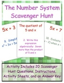 The Number System Scavenger Hunt