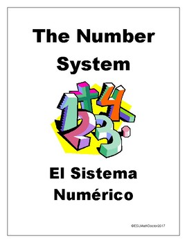 The Number System Word Wall-English to Spanish