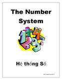 The Number System Word Wall-English to Vietnamese