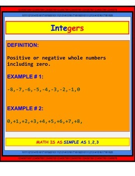 The Number Systems
