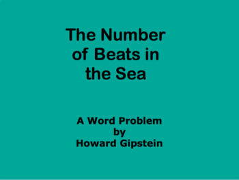 The Number of Beats in the Sea