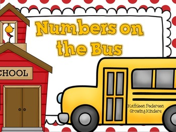 The Numbers on the Bus {A Math Game}