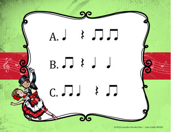The Nutcracker -- An Aural Rhythm Recognition Game {ta titi rest}
