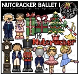 The Nutcracker Ballet 1 Clip Art Bundle {Educlips Clipart}