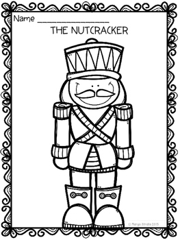The Nutcracker Ballet Coloring Pages
