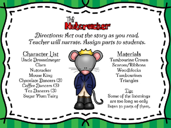 The Nutcracker Ballet: Story Play with Guided Listening Activities