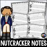 The Nutcracker Blank Sheet Music!  Christmas Composing & December Activities