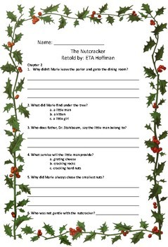 The Nutcracker Chapter Book Questions