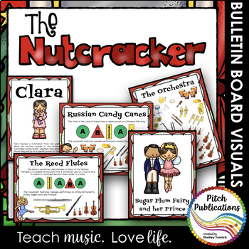 The Nutcracker Bulletin Boards - Characters, Form, history, and more!