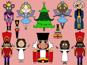 The Nutcracker Clip Art Set