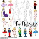 The Nutcracker Clip Art Set
