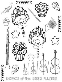 The Nutcracker: Coloring Pages