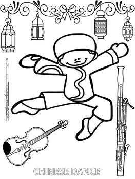 The Nutcracker Coloring Pages By Clancy S Classroom Tpt