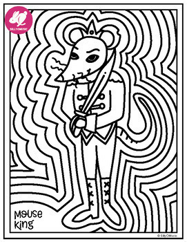 Top 20 Free Printable Nutcracker Coloring Pages Online ... | 350x271