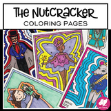 Christmas Music Activity: The Nutcracker Coloring Pages
