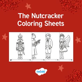 The Nutcracker Coloring Sheets