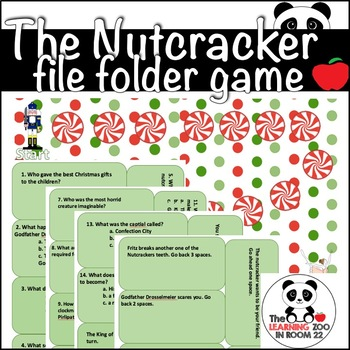 The Nutcracker File Folder Game