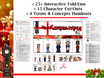 The Nutcracker Interactive Character Flip-Ems