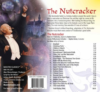 The Nutcracker Ballet MP3 and Activity Book featuring Jim Weiss