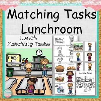 Lunchroom Matching Tasks
