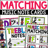 The Nutcracker Music Notes Matching Flashcards, Christmas