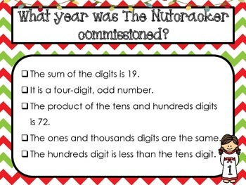 The Nutcracker Mystery Numbers