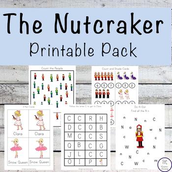 The Nutcracker Printable Pack