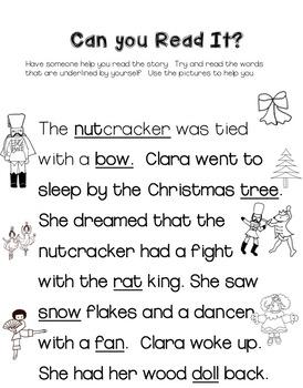 The Nutcracker  Reading  Kindergarten and 1st grade