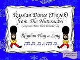The Nutcracker: Russian Dance (Trepak) Rhythm Play a Long