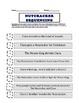 The Nutcracker Sequencing Worksheet