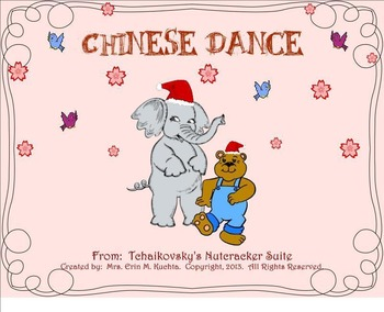 The Nutcracker Suite - Chinese Dance (A Listening Lesson w/ Map) SMNTBK ED.