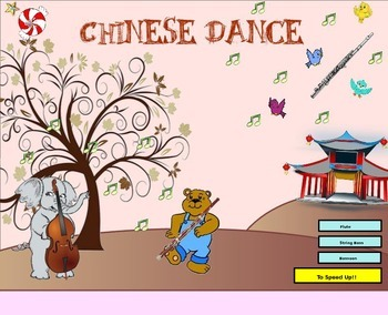 The Nutcracker Suite - Chinese Dance (A Listening Lesson w/ Map) - PPT Version