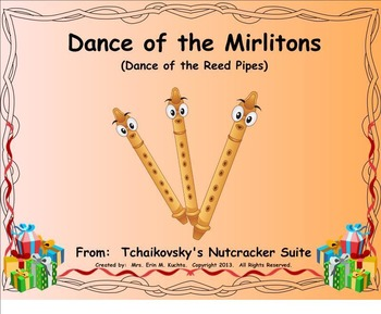 The Nutcracker Suite - Dance Of The Reed Pipes (A Listening Lesson w/ Map)SMNTBK