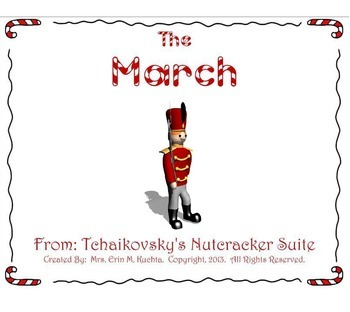 The Nutcracker Suite - The March (A Listening Lesson w/ Map) - PPT Version