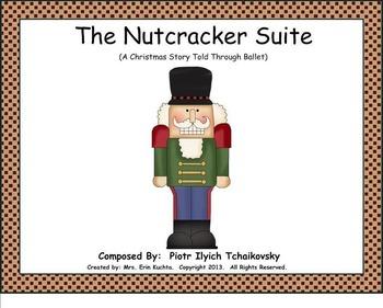 The Nutcracker Suite: An Interactive Listening Unit-BUNDLE