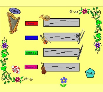 The Nutcracker Suite-Waltz Of The Flowers (Listening Lesson w/ Map)-PPT Version