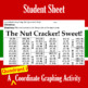The Nutcracker! Sweet! - A Quadrant I Coordinate Graphing Activity
