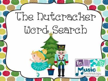 The Nutcracker Word Search