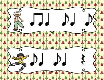 The Nutcracker, Write-the-Room Rhythm Activity: Syncopa