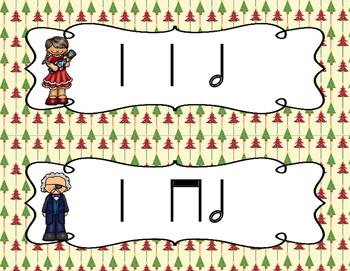 The Nutcracker, Write-the-Room Rhythm Activity: Ta-a (Half Note)