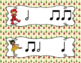 The Nutcracker, Write-the-Room Rhythm Activity: Ta-a (Half Note)