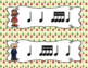 The Nutcracker, Write-the-Room Rhythm Activity: Tika-tika (16th notes)