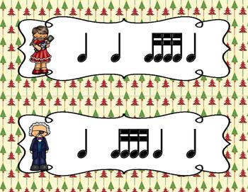 The Nutcracker, Write-the-Room Rhythm Activity: Tika-tika (16th notes)