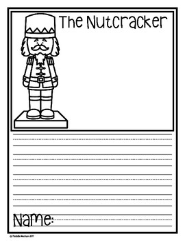 The Nutcracker - Writing Freebie
