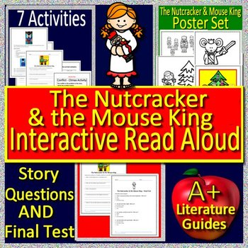 The Nutcracker & the Mouse King Interactive Read Aloud Activities and Lessons