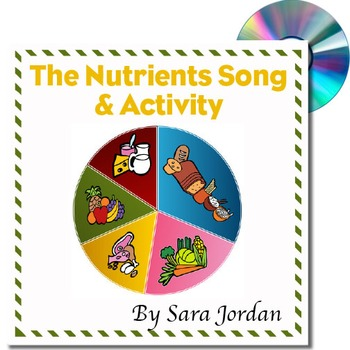 The Nutrients Song & Activity - MP3 Song w/ Lyrics and Activity