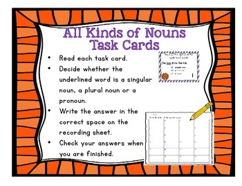 The Nuts and Bolts of Grammar: All Kinds of Nouns