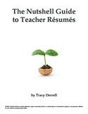The Nutshell Guide to Teacher Résumés